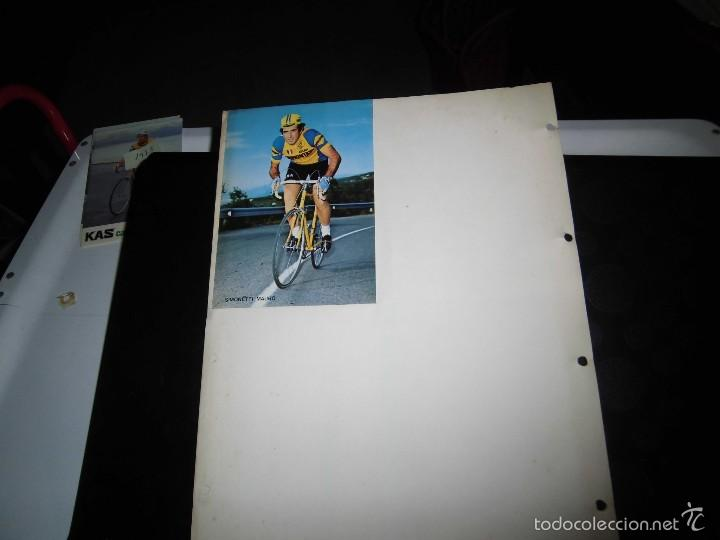 Coleccionismo deportivo: 4 CICLISTAS DEL EQUIPO GELATI SAMMONTANA ITALIA 1974 - Foto 2 - 58302221