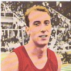 Coleccionismo deportivo: LUIS FELIPE ARETA .ATLETISMO. 42 TARJEFHER. 1965. 9,1 X 13,5 CMS. VELL I BELL. Lote 58341130