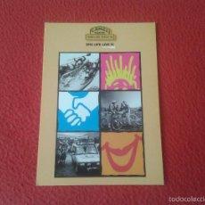 Coleccionismo deportivo: TARJETA TIPO POSTAL POSTCARD PARA INSCRIPCION O SIMILAR EN CAMEL TROPHY TIERRA DE FUEGO 98 1998 VER . Lote 60659215