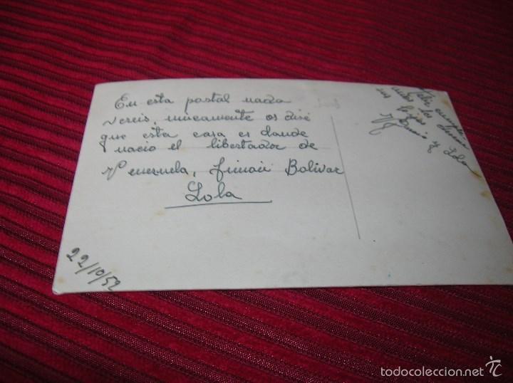 Coleccionismo deportivo: Postal Recuerdo de los III Juegos Deportivos Bolivarianos Caracas 1951 - Foto 2 - 61265067