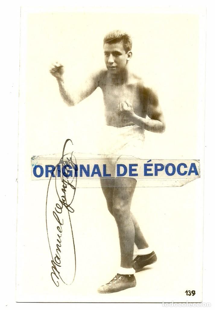 (F-161031)POSTAL FOTOGRAFICA BOXEO , MANUEL GONZALEZ (Coleccionismo Deportivo - Postales de otros Deportes )