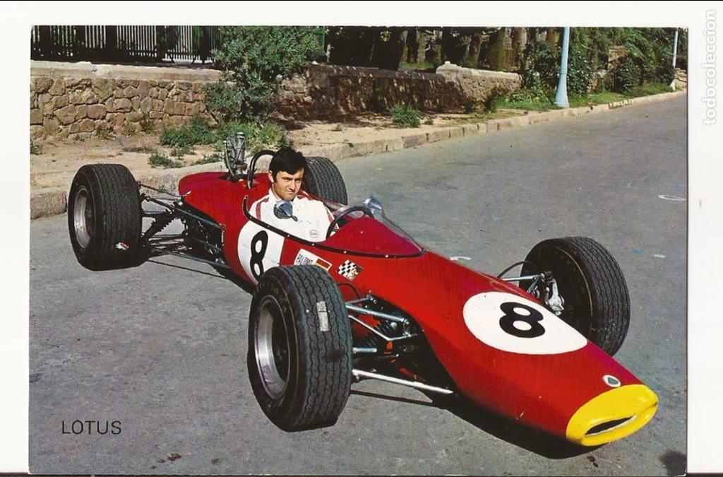 gom-1733_postal lotus, formula 3 montjuich 1968 - Comprar Postales ...