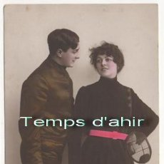 Coleccionismo deportivo: (ALB-TC-4) ANTIGUA POSTAL ESGRIMA 1915 . Lote 62959364