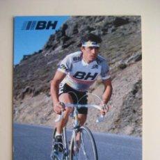 Coleccionismo deportivo: CICLISMO: C. MOREDA - EQUIPO CICLISTA BH 1987 - PUBLICIDAD OFICIAL DEL EQUIPO. Lote 72927871