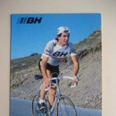 Coleccionismo deportivo: CICLISMO: F. ECHAVE - EQUIPO CICLISTA BH 1987 - PUBLICIDAD OFICIAL DEL EQUIPO. Lote 72928103