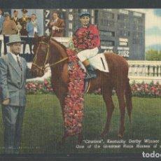 Coleccionismo deportivo: CARRERAS DE CABALLOS - CABALLO CITATION - GANADOR DERBY DE KENTUCKY 1948 - P19820. Lote 81723148