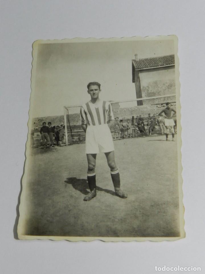 FOTOGRAFIA DEL CAMPO DE FUTBOL DE MIRAMAR, SANTANDER, INSTITUTO NACIONAL, AÑO 1943, MIDE 8,3 X 6 CMS (Coleccionismo Deportivo - Postales de otros Deportes )