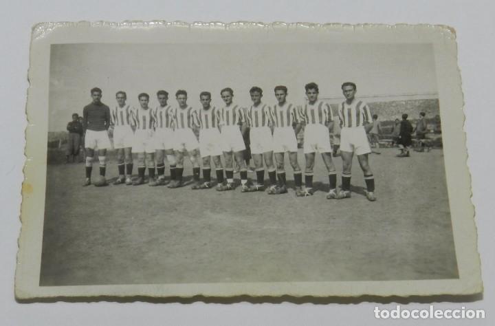 FOTOGRAFIA DEL CAMPO DE FUTBOL DE MIRAMAR, INSTITUTO NACIONAL - SANTANDER, INSTITUTO NACIONAL, CAMPE (Coleccionismo Deportivo - Postales de otros Deportes )