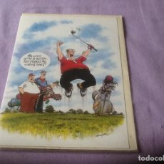 Coleccionismo deportivo: POSTAL FELICITACIÓN GOLF, ENGLAND, VER FOTOS.. Lote 85716688