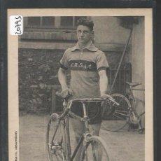 Coleccionismo deportivo: CICLISMO - HENRI THOMAS - CYCLE ROUTIER ET SPORTIF DES 4 CHEMINS - FRANCE - FRANCIA - P20795. Lote 87688964