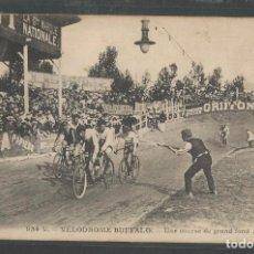 Coleccionismo deportivo: CICLISMO - VELODROMO BUFFALO - PARIS - FRANCE - FRANCIA - BICICLETA - P20791. Lote 87689252