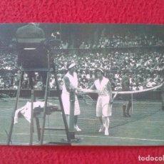 Coleccionismo deportivo: POSTAL POST CARD THE NOSTALGIA POSTCARD VINTAGE WIMBLEDON HELEN WILLS-MOODY TENISTA TENIS TENNIS 30S. Lote 88105684