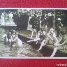 Coleccionismo deportivo: POSTAL POST CARD THE NOSTALGIA POSTCARD VINTAGE LONDON´S PALM BEACH 1926 BAÑISTAS BATHING BEAUTIES . Lote 88147260