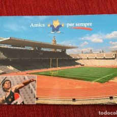 Coleccionismo deportivo: R2675 POSTAL FOTOGRAFIA OLIMPIADAS BARCELONA 92 1992 AMICS PER SEMPRE JAVALINA. Lote 93156200