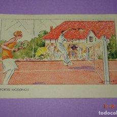 Coleccionismo deportivo: ANTIGUA TARJETA POSTAL * DEPORTES MODERNOS * TENIS - AÑO 1930-40S.. Lote 95765823