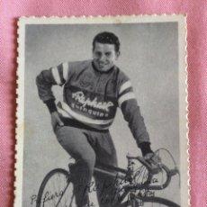 Coleccionismo deportivo: POSTAL PUBLICIDAD QUINQUINA ST.RAPHAEL. TARRAGONA. CICLISMO. MARTÍN METZGER.. Lote 96814079