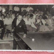 Coleccionismo deportivo: FOTOGRAFÍA FORMATO POSTAL. JOAQUIN DOMINGO. CAMPEÓN DE ESPAÑA DE BILLAR.. Lote 96815215