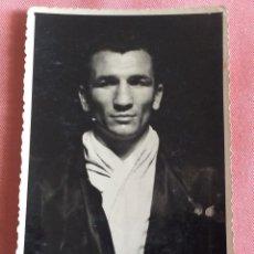 Coleccionismo deportivo: POSTAL FOTOGRÁFICA BOXEO. BOXEADOR. DESCONOZCO EL NOMBRE. VALENCIA.. Lote 96819323