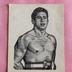 Coleccionismo deportivo: POSTAL CROMO. REVERSO BLANCO. BOXEO. BOXEADOR TARRES.. Lote 96823023