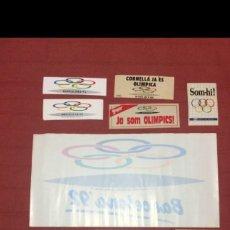 Coleccionismo deportivo: ADHESIVOS BARCELONA'92. Lote 97947247