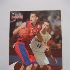 Coleccionismo deportivo: POSTAL JUGADOR TAU CERAMICA BASKONIA VITORIA BASKET. PABLO PRIGIONI. BALONCESTO. TDKP12. Lote 98137791