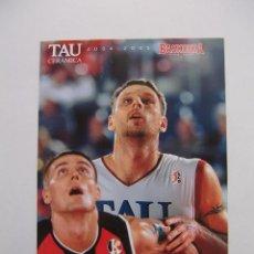 Coleccionismo deportivo: POSTAL JUGADOR TAU CERAMICA BASKONIA VITORIA BASKET. ANDREW BETTS. BALONCESTO. TDKP12. Lote 98137863