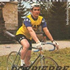 Coleccionismo deportivo: POSTAL CICLISMO DEL EQUIPO KAS, LASA, 1972. Lote 100965459