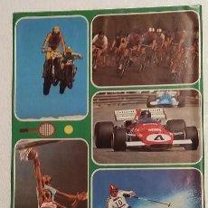 Coleccionismo deportivo: DEPORTES. POSTER TAMAÑO CUARTILLA, LAMIMA AÑOS 80. Lote 102580263