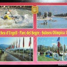 Coleccionismo deportivo: POSTAL POST CARD LA SEU DE URGELL PARQUE DEL SEGRE SUBSEDE OLIMPICA BARCELONA 1992 OLYMPIC GAMES. Lote 103988823