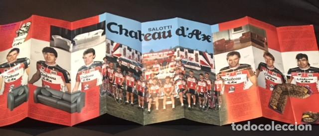 Chateau D Ax Salotti Catalogo.Catalogo 1989 1990 Del Equipo Ciclista Chateau Buy Old Postcards
