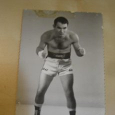 Coleccionismo deportivo: INTERESANTE POSTAL FOTOGRAFICA ORIGINAL ANTIGUA BOXEO BOXEADOR . Lote 106301131