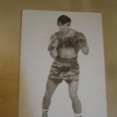 Coleccionismo deportivo: INTERESANTE POSTAL FOTOGRAFICA ORIGINAL ANTIGUA BOXEO BOXEADOR . Lote 106301631