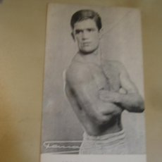 Coleccionismo deportivo: INTERESANTE POSTAL ORIGINAL ANTIGUA BOXEO BOXEADOR JOSE LUIS TORCIDA FEDERACION CATALANA DE BOXEO. Lote 106302759