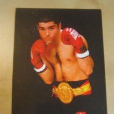 Coleccionismo deportivo: INTERESANTE POSTAL ORIGINAL ANTIGUA BOXEO BOXEADOR TITO ESCORPION LOPEZ PUBLICIDAD CITROEN. Lote 106303795