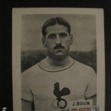 Coleccionismo deportivo: JEAN BOUIN - POSTAL PUBLICITARIA- JUEGOS OLIMPICOS ROMA 1960 - VER REVERSO - (51.253). Lote 107677427