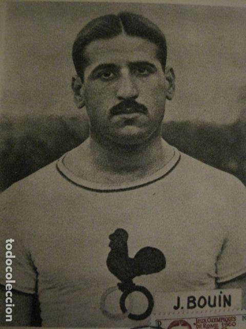 Coleccionismo deportivo: JEAN BOUIN - POSTAL PUBLICITARIA- JUEGOS OLIMPICOS ROMA 1960 - VER REVERSO - (51.253) - Foto 3 - 107677427