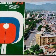 Coleccionismo deportivo: POSTAL 1973 WORLD TABLE TENNIS CHAMPIONSHIPS. Lote 107795879