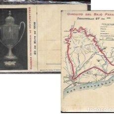 Coleccionismo deportivo: POSTAL AÑO 1909 * COPA CATALUNYA , CARRERA INTER. DE VOITURETTES * BAIX PENEDÉS. Lote 108335039