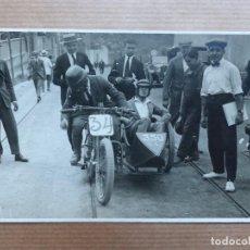 Coleccionismo deportivo: CARRERA SIDECAR - POSTAL FOTOGRAFICA. Lote 109236399