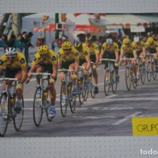 Coleccionismo deportivo: POSTAL EQUIPO CICLISTA ONCE 1993. Lote 109578079