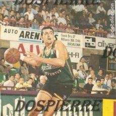 Coleccionismo deportivo: POSTAL BALONCESTO, JUAN ANTONIO MORALES, JOVENTUT DE BADALONA, CON AUTÓGRAFO Y DEDICATORIA. Lote 114796919