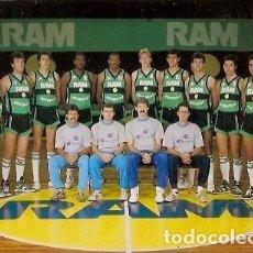 Coleccionismo deportivo: POSTAL A COLOR RAM JUVENTUT PLANTILLA 1987 88. Lote 114823019