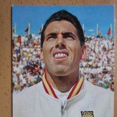 Coleccionismo deportivo: POSTAL * MANUEL SANTANA , COPA DAVIS * OSCARCOLOR AÑO 1965. Lote 114910315