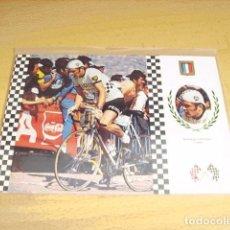 Coleccionismo deportivo: CICLISMO Nº 5 BERNAD THEVENET ( FRANCIA ). Lote 117012223