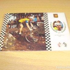 Coleccionismo deportivo: CICLISMO Nº 11 JOSE MARIA BASUALDO ( ESPAÑA ). Lote 117012687