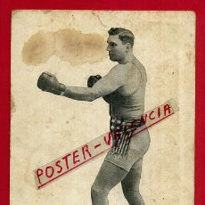 Coleccionismo deportivo: POSTAL BOXEO , BOXEADOR AMERICANO JESS WILLARD CAMPEON MUNDIAL DEL MUNDO , ORIGINAL , P88702. Lote 121996715
