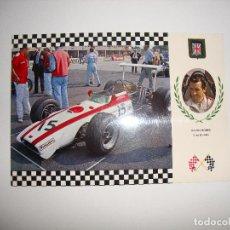 Coleccionismo deportivo: (ALB-TC-30) POSTAL COCHE SERIE GRAN PRIX HONDA. Lote 122169879