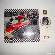 Coleccionismo deportivo: (ALB-TC-30) POSTAL COCHE SERIE GRAN PRIX LOTUS. Lote 122169999
