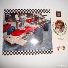 Coleccionismo deportivo: (ALB-TC-30) POSTAL COCHE SERIE GRAN PRIX LOTUS. Lote 122170231