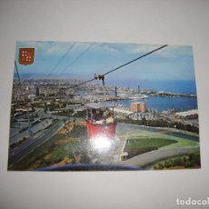 Coleccionismo deportivo: (ALB-TC-30) POSTAL BARCELONA FUNICULAR AEREO MONTJUICH. Lote 122176263